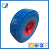Environmental wheel ! Yinzhu manufacturer pu solid wheel 3.50-4 for wheel barrow