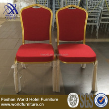 Hot sell king throne chair/price steel banquet hotel chair