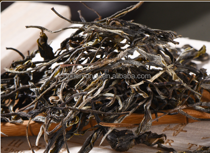 Chinese Ripe Puerh Loose Leaf Tea Colonic Cleaning Easy Slim Tea