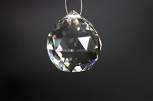 wholesale cheaper facetted crystal ball chandelier for crystal light accessories