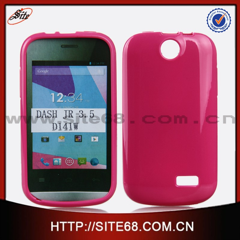 New coming tpu cell phone case for blu dash JR 3.5 D141W with factory price