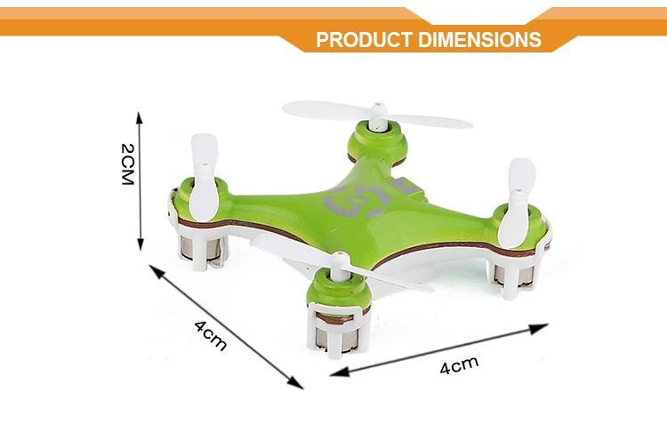 Mini Quadcopter Cheerson CX-10 2.4G 4ch RC Helicopter with Camera