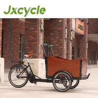 CE approved Brushless motor cargo tricycle with cabin