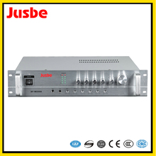 New pattern outdoor silver aluminium alloy 480*390*130 fp13000 high power integrated amplifier for teaching