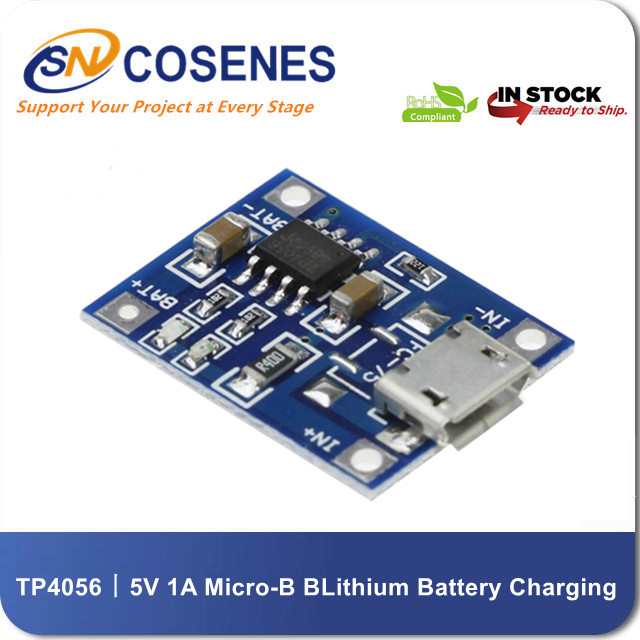 5V 1A Micro USB B Type Lithium Battery Charging Module TP4056