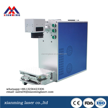 fiber laser marking machine price 10w 20w 30w with rotating system MAX laser