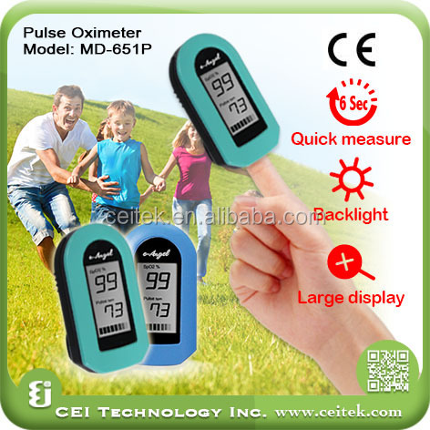 Factory direct sales High Quality Finger Pulse Oximeter Better than pulse rate wrist watch