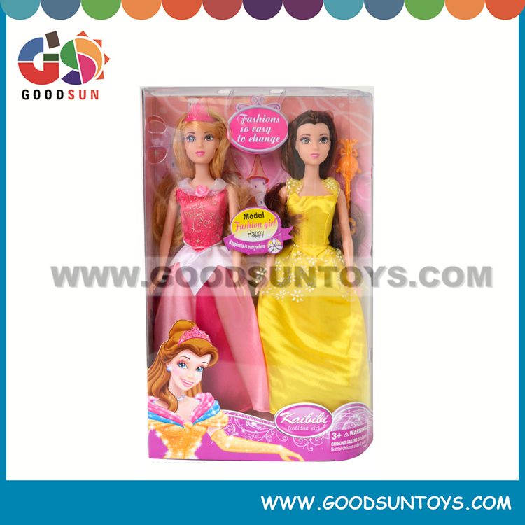 Pretty Princess Joints movable Dress up Nude Girl Toys Doll