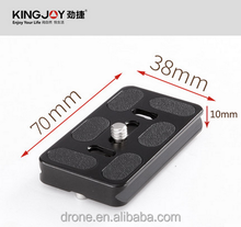 Quality all metal quick release plate QR30 with Special Adapter
