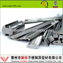 AISI 304 316 stainless steel extrusion profile