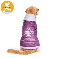 Purple polyester taffeta coat for large dog online supplier