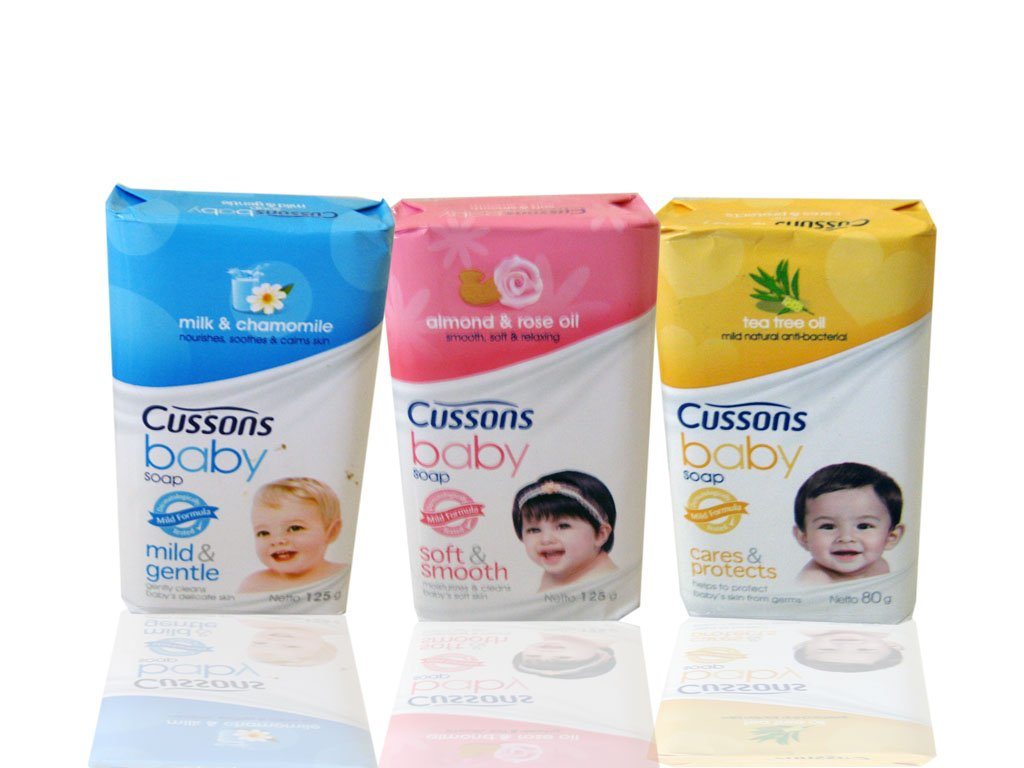 Cusson baby soap