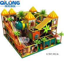 Commercial Kids Indoor Climbing Play Gym Jumping Playground Children Playground Sets