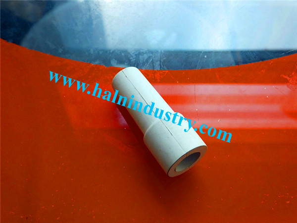 white silicone rubber sleeve
