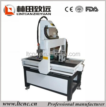 small wood engraving acrylic lathe cnc router