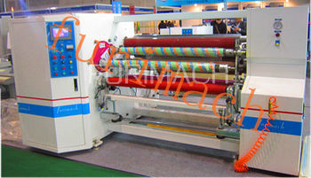 Double-shaft Auto Rewinding Machine(Bopp,Kraft Tape,Double-side Tape Slitter and Rewinder)