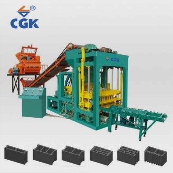 CGK solid making brick block material machine bricks manufactring machines 4-25 Manufacturer