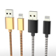 2019 OEM nylon braided mobile phone fast usb charging cable type c charger data cable fast charge for android for iPhone