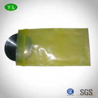 Zip-lock Yellow PE VCI packaging bag for metal protection