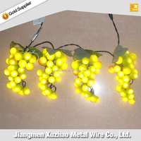 25L/50L/70L/100L Bulbs Count Christmas Decoration Artificial Fruit
