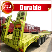 2016 low bed trailer truck trailer dimension