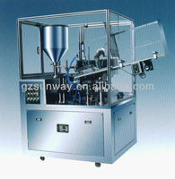 Automatic Aluminum Tube Filling and Sealing Machine for Honey Food