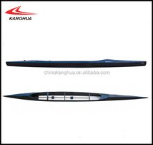 new design Sandwich structure carbon fiber Plestax/Nole model racing Canoe C2 Fiberglass rib boat for sale