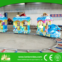 CE approved mini kids amusement park electric train ride for sale
