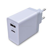 Dual Port 45W USB Wall Charger New Type C PD Charger Adapter For Mobile Phone Computer