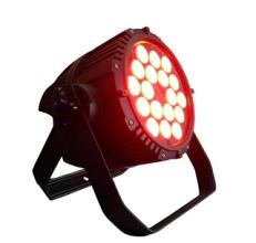 led lights DMX flat led par can 18*10w for up lighting