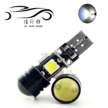 T10 Led 501 W5W Canbus Error Free 5050 4SMD + cob High Power Wedge Sidelight Car Parking Light Projector Lens