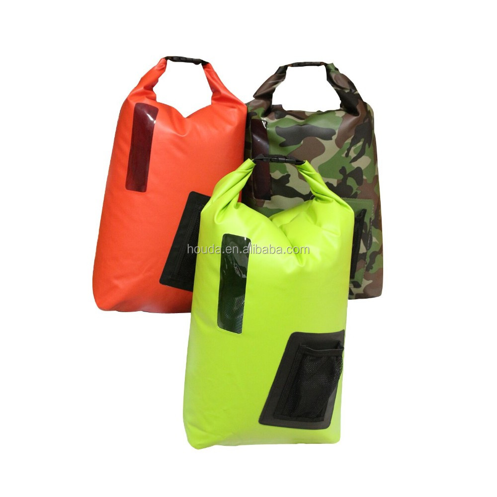 latest fashion 500D tarpaulin pvc backpack hiking backpack for outdoor