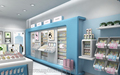 Nice skin care shop furniture 3D MAX design and skin care display furniture for sale