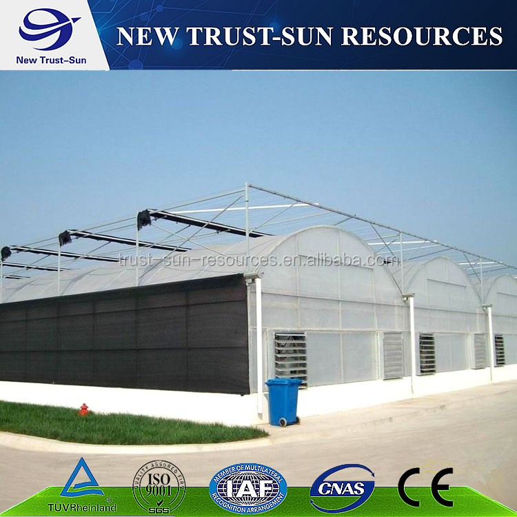 Glass agriculture greenhouse for sale