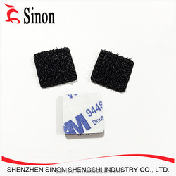 customized hook loop fastener tape adhesive coin dots