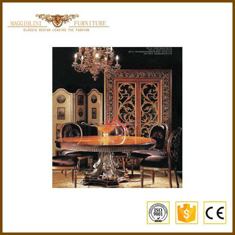 Favorable price Best Selling high end home furniture dining room set