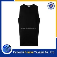 New Style Good Quality Blank Roune Neck Neon Tank Top for Men