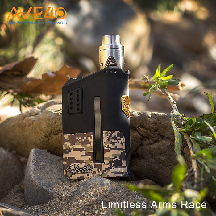Alibaba express Electronic Cigarette Limitless Arms Race 200W Box Mod Wholesale
