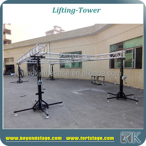 outdoor festival portable dj light stand for sale