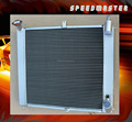 Auto aluminum radiator for MAZDA RX7 1993-1997