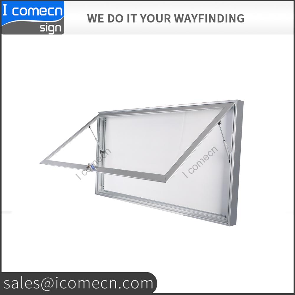 Portable Customize Aluminium / Cork Frame Magnetic Dry Erase/ Cork ...