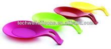 Hot Sale Simple Useful Silicone Spoon Rest Mat