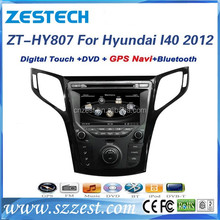 factory price 2 din car gps navigation for Hyundai I40 2012 car navigation multimedia system with AM FM RDS TV BT Phonebook,cd