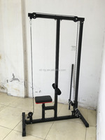 Lat Pulldown and Low Row Cable Machine Plate Loading Lat Pull Down