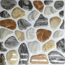 liquid 3d floors,modern house design, clolorful stone uneven amber glazed non-slip bathroom floor tiles 300*300