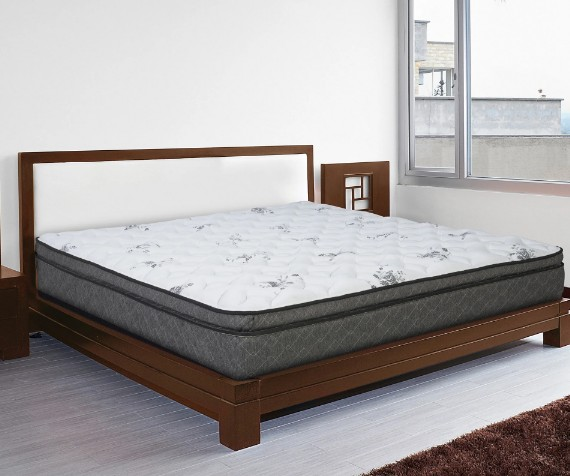 Latex Hybrid Pillowtop Full-size Mattress - White - Jozy Mattress | Jozy.net
