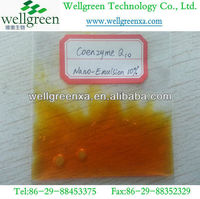 Top quality Coenzyme Q10 Nano-emulsion 10%