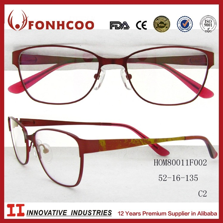 Fonhcoo Large Eyeglasses Classic Design Optic Frame In ...