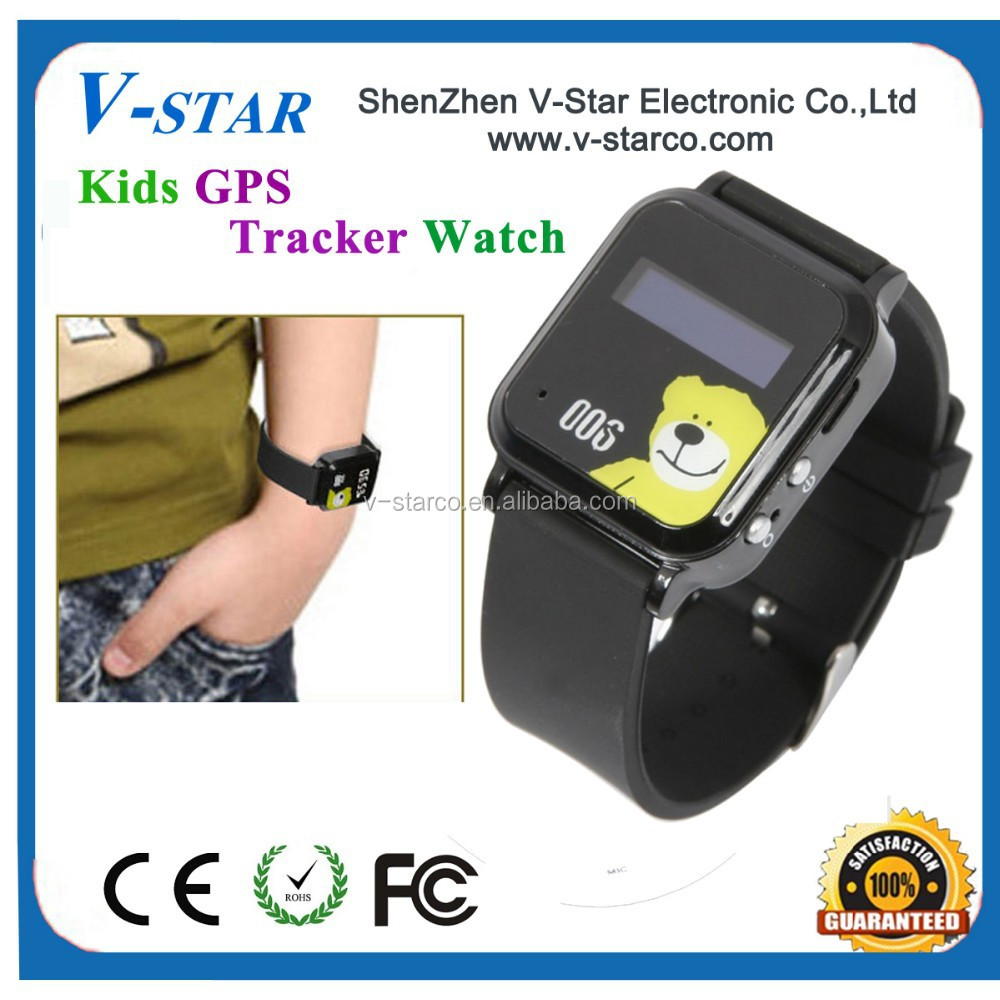 Mini GPS Tracker Watch 006 Children Kids GPS GSM GPRS Tracker with SOS function