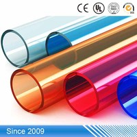 Colorful Hard PP Pipe PP Plastic